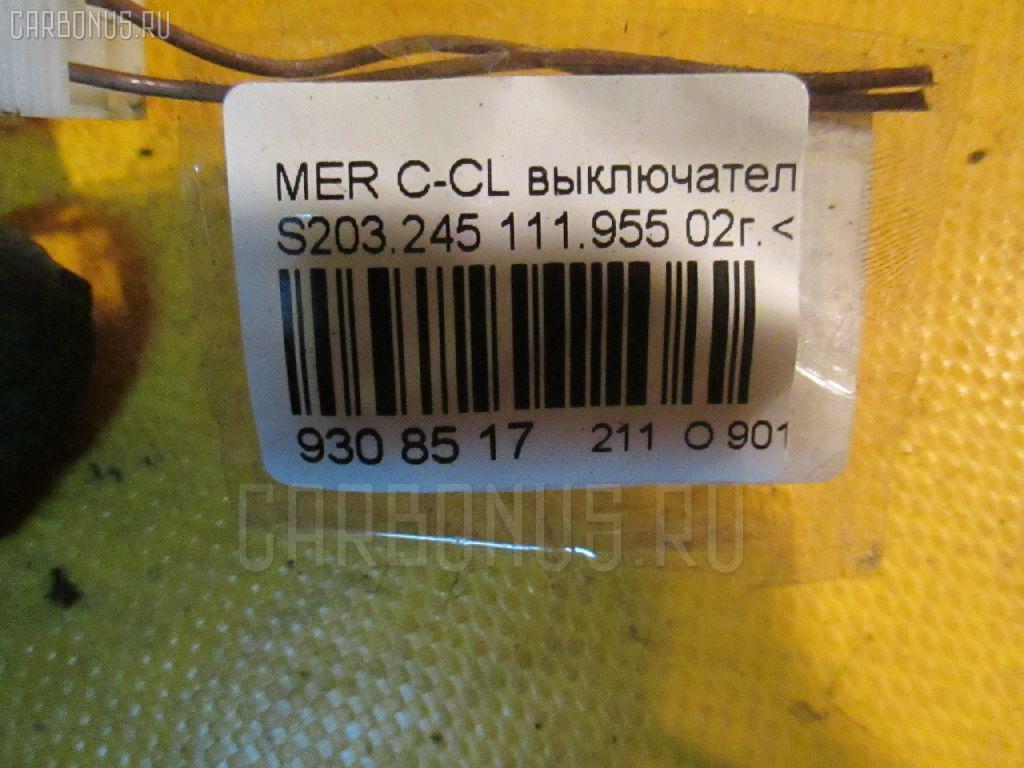 Выключатель концевой MERCEDES-BENZ C-CLASS STATION WAGON S203.245 111.955 Фото 2