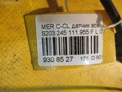 Датчик ABS MERCEDES-BENZ C-CLASS STATION WAGON S203.245 111.955 Фото 2