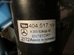 Мотор привода дворников Mercedes-benz C-class station wagon S203.245 Фото 3