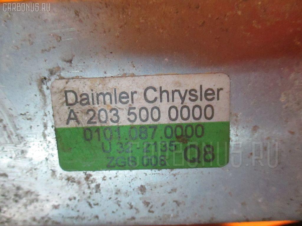 Радиатор интеркулера MERCEDES-BENZ C-CLASS STATION WAGON S203.245 111.955. Фото 4