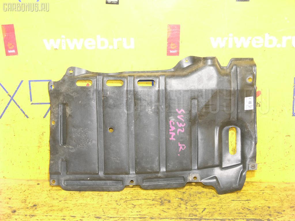 Защита двигателя TOYOTA SV32 3S-FE Фото 1