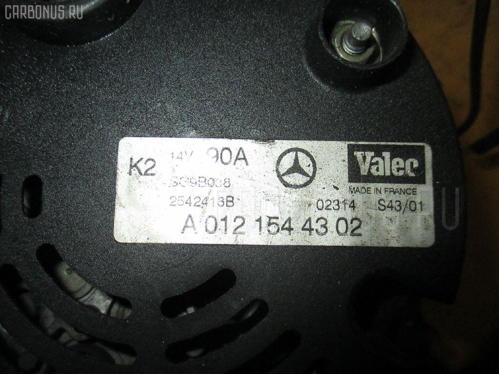 Генератор MERCEDES-BENZ A-CLASS W168.032 166.990. Фото 9