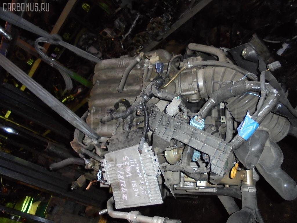 Двигатель Nissan Elgrand ME51 VQ25DE Фото 1