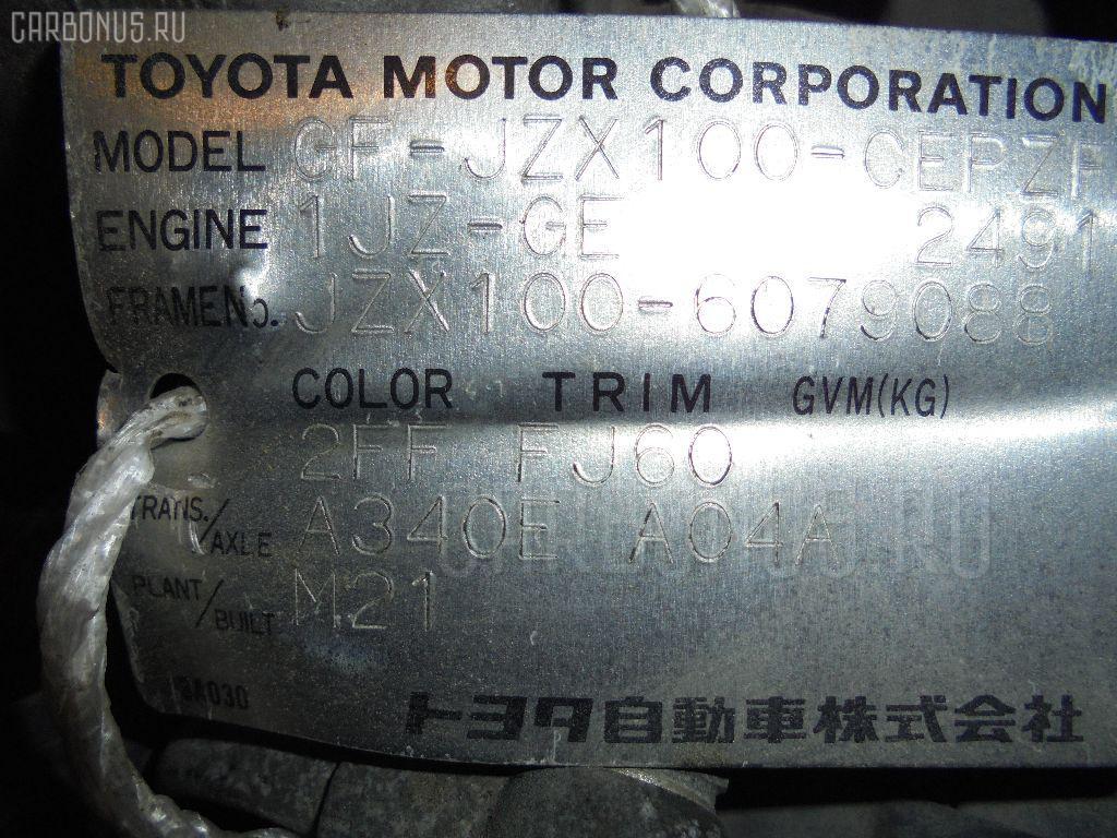 Двигатель TOYOTA JZX100 1JZ-GE Фото 6