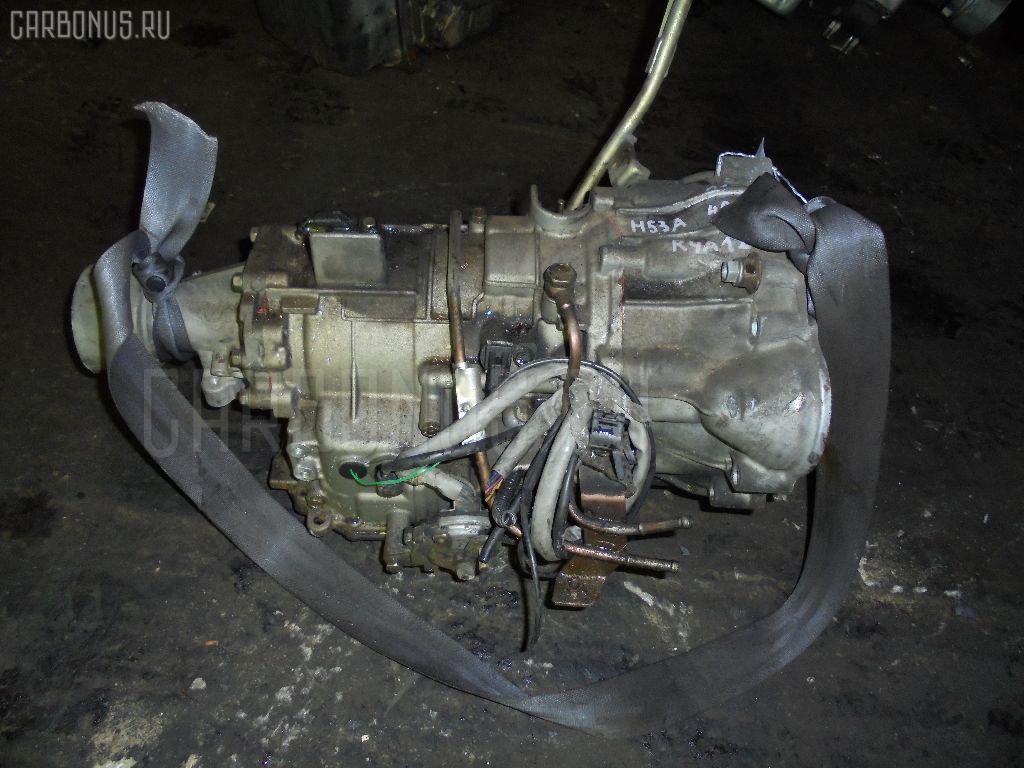 КПП автоматическая MITSUBISHI PAJERO MINI H53A 4A30T Фото 1