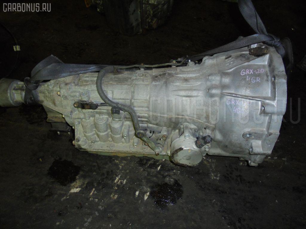 КПП автоматическая TOYOTA MARK X GRX120 4GR-FSE. Фото 2