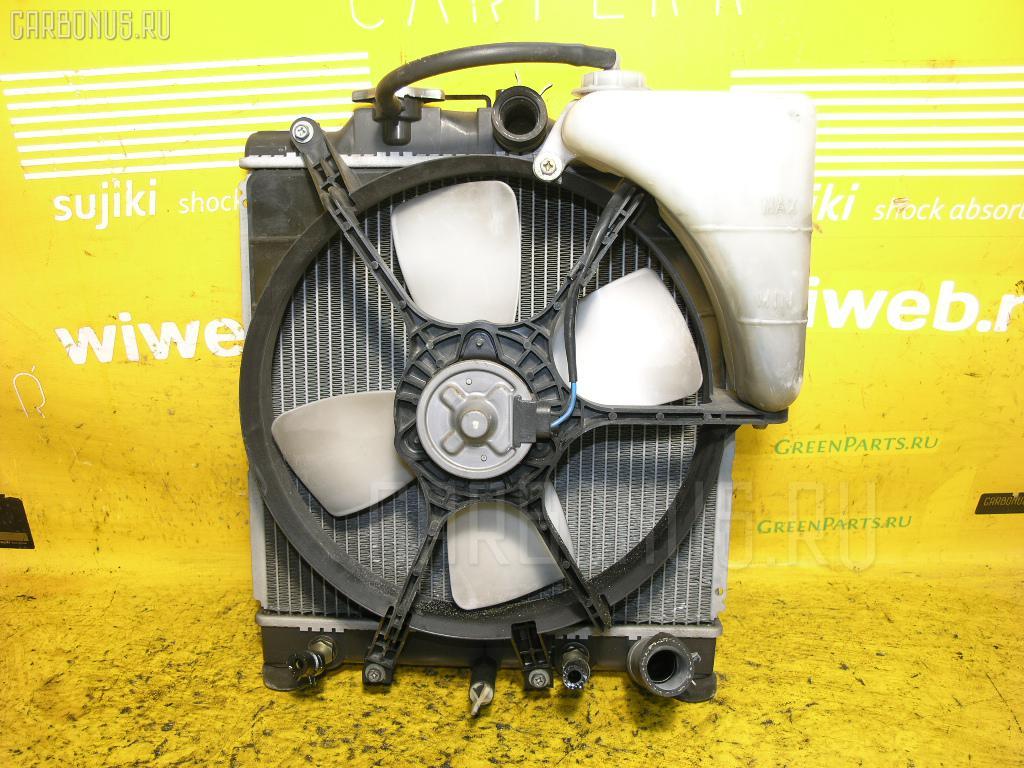 Радиатор ДВС HONDA HR-V GH4 D16A. Фото 8