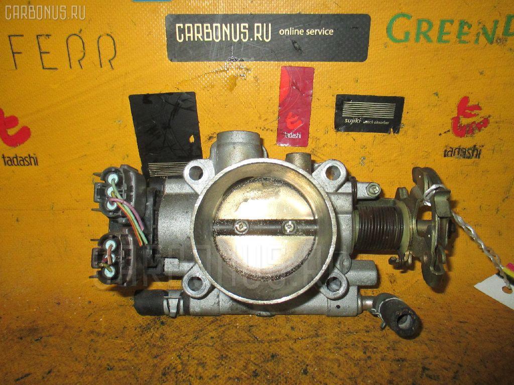 Дроссельная заслонка NISSAN LAUREL GC35 RB25DE. Фото 8
