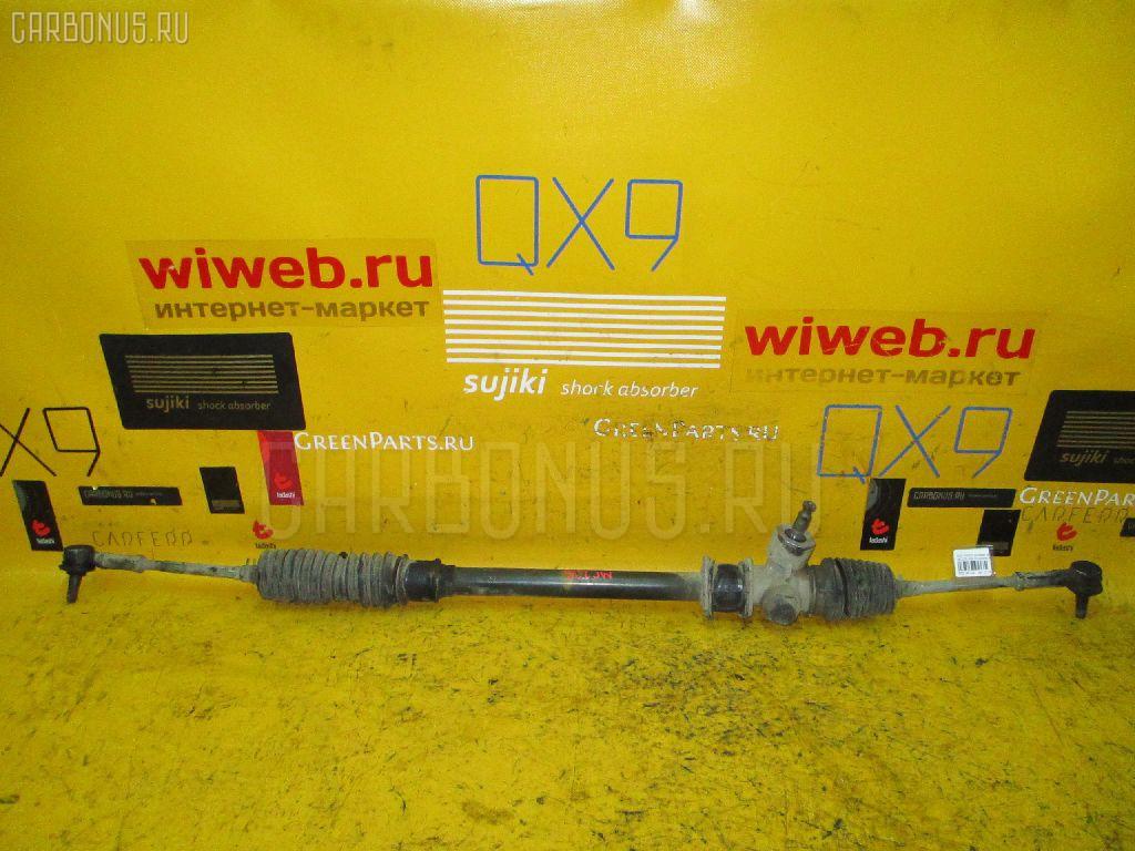 Рулевая рейка SUZUKI WAGON R MC22S K6A. Фото 10