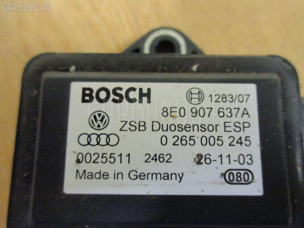 Датчик ускорения VAG WAUZZZ8E74A170502 8E0907637A на Audi A4 8EALT ALT Фото 1