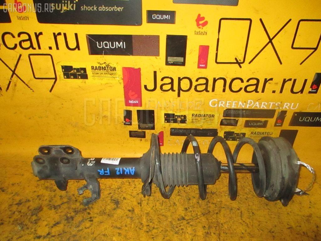 Стойка амортизатора Nissan March AK12 CR12DE Фото 1