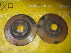 Тормозной диск на Mercedes-Benz Cls C219.356 272.964 WDD2193562A081584, Переднее расположение