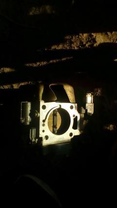 Дроссельная заслонка на Honda Stream RN3 K20A Фото 5