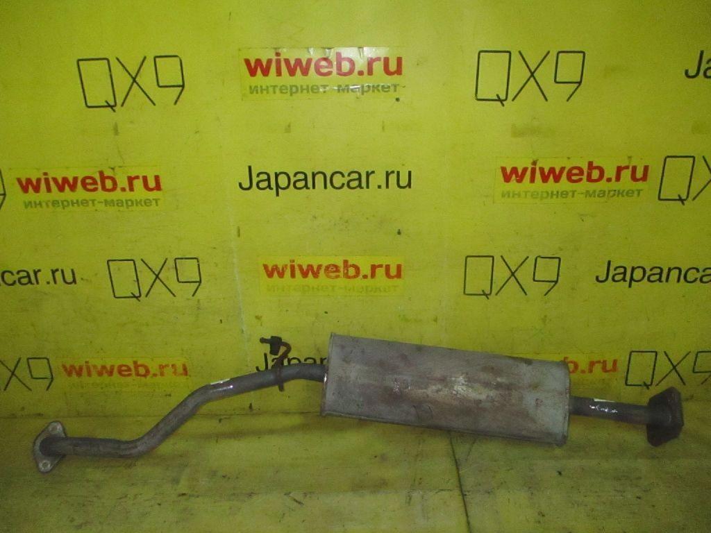 Глушитель на Nissan March K12 CR10DE Фото 1