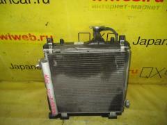 Радиатор ДВС на Suzuki Kei HN22S K6A