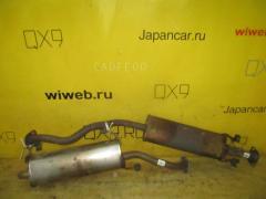 Глушитель на Nissan Tiida C11 HR15DE