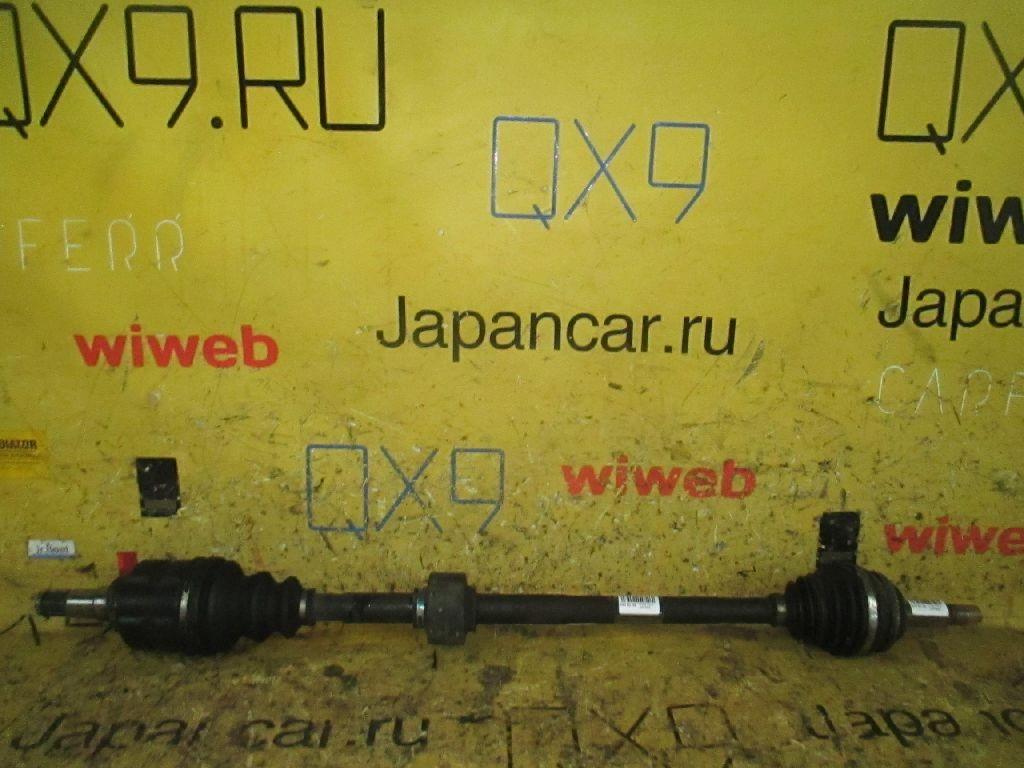 Привод на Toyota Wish ZNE10G 1ZZ-FE Фото 1
