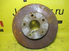 Тормозной диск на Toyota Mark II JZX90 1JZ-GE, Переднее расположение