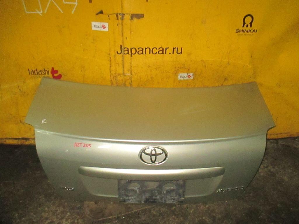 Крышка багажника на Toyota Avensis AZT255 Фото 1