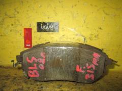Тормозные колодки на Subaru Legacy BL5 EJ20X 26296XA010, Переднее расположение