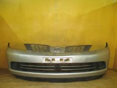 Бампер на Nissan Tiida Latio SC11, Переднее расположение