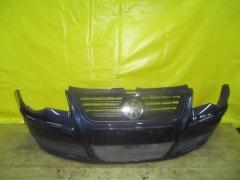 Бампер на Volkswagen Polo 9N 6Q0807221C, Переднее расположение