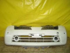 Бампер на Nissan March K12 62022-CT10H, Переднее расположение