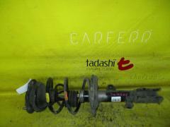 Стойка амортизатора на Toyota Wish ZNE10G 1ZZ-FE, Переднее Левое расположение