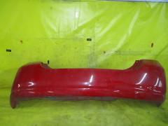 Бампер на Honda Fit GD1, Заднее расположение